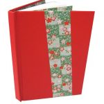 Hard covered blank journal with decorative features
