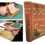 Rebind a hard cover book