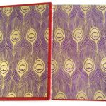 Endpapers and board paper