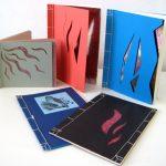 Oriental side stitched notebooks